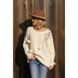 LADIES KNITTED SWEATER